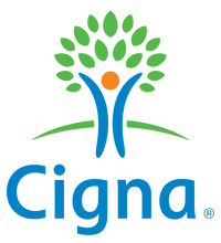 Logotipo Cigna vertical